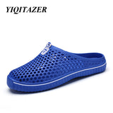 YIQITAZER 2017 Casual Shoes Men Valentine Lovers Shoes,Summer Cool Beach Water Shoes Slipon Mens Slippers Shoes
