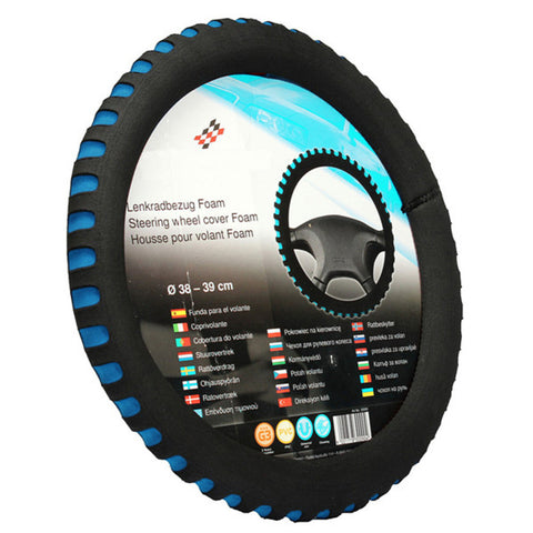High Quality EVA Universal Car Steering Wheel Cover Diameter 38cm Automotive Car Covers 3 Colors Fit Most Car Styling Wholesale