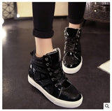 Hot Women's Casual Shoes 2017 New Women Fashion Low To Help Leisure Breathable Net Single Shoes Free Shipping