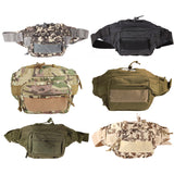 Outdoor Military Waist Bag Tactical Waist Pack Shoulder Bag Multi-pocket Molle Camping Hiking Pouch Belt Wallet Pouch Purse