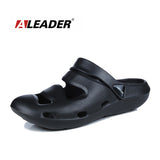 Aleader New Fashion Sandals Men Breathable Casual Shoes Soft Eva Cushion Sandals For Men Beach Water Shoes Croc Clogs Sandalias