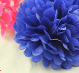 "30pcs mixed 3 sizes (6"",8"",10"") Tissue Paper Pom Poms Flower Balls, Wedding Pom Poms, Baby Shower, Nursery, Wedding Decoration"