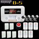 2017 Free Shipping Wireless Home Burglar GSM Alarm System Security Guard M3D Support Relay Smart Home Control Voice Prompt