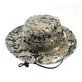 Cap Men Bucket Hat Boonie Hunting Fishing Outdoor Wide Caps Brim Military Cap P15