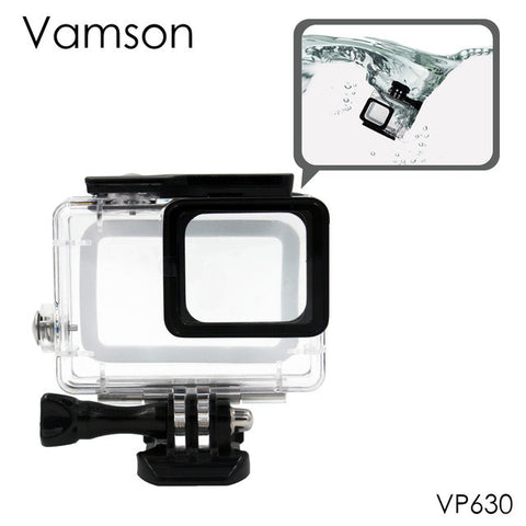 Vamson for Gopro Hero 5 Accessories Waterproof Protection Housing Case Diving 45M Protective For Gopro Hero 5 Sport Camera VP630