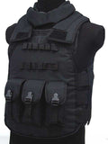Hot selling Jiepolly military vest Four In One Tactical Vest Top Quality Nylon Airsoft Paintball Combat Assault Protective Vest