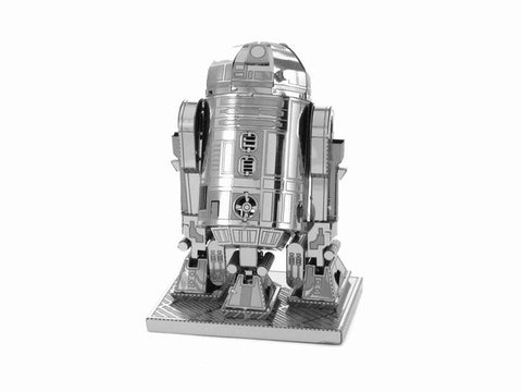 Finger Rock 3D Metal Puzzles Assemble DIY R2D2 Tie Xwing Fighter Millennium Falcon BB-8 Battle Droid Model Toys New Year Gift
