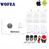 Free shipping IOS & android App control 7 wireless &3 wired zone home security gsm alarm system relay output10 language