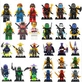[Bainily]1pcs Yang Gereral Kozu Echo Zane Pythor Giant Stone Kai Building Blocks figures toys for children