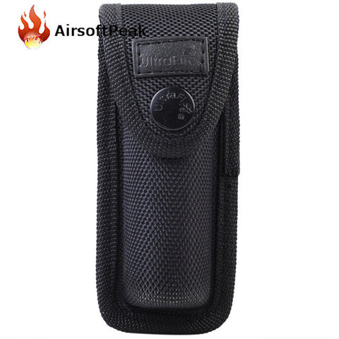 AIRSOFTPEAK Flashlight Pouch LED Flashlight Holster Torch Pouch Outdoor Tactical Military Tool Molle Waist Belt Hunting Bag