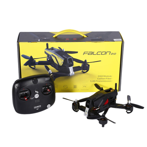 RTF FPV Drone TOVSTO Falcon210 RC Aegean V2 Standard Version 2.4Ghz 6CH 6 Axis Gyro Real Time Aerial Drone Quadcopter