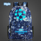 FVIP Teenagers Backpacks School Bag Logo Messi Backpack Bag Men Boys Travel Gift Kids Bagpacks Mochila Bolsas Escolar