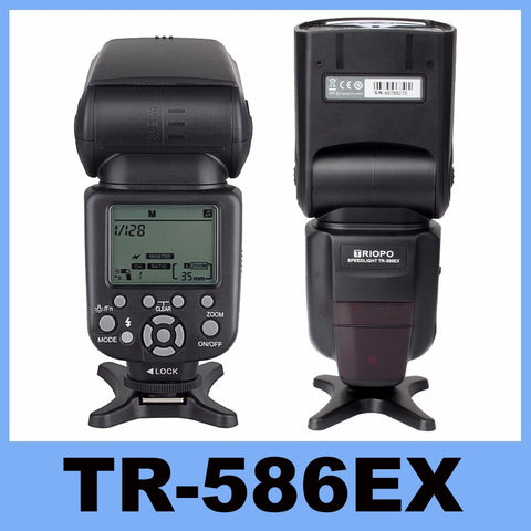 New Triopo TR-586EX Wireless Flash Mode TTL Speedlite Speedlight For Nikon D750 D800 D3200 D7100 DSLR Camera as YONGNUO YN-568EX