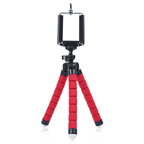 Mesuvida Original Shoot Mini Portable Flexible Sponge Octopus Tripod For Phone Stand Mount With Holder Tripod for DSLR Camera