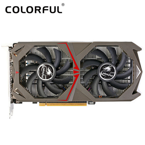 Colorful gtx1050 video card NVIDIA GeForce GTX 1050 GPU 2GB 128bit GDDR5 PCI-E X16 3.0 Gaming Video Graphics Card DVI+HDMI+DP