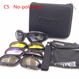 DAISY X7 Goggles Men Military polarized C5 Sunglasses Bullet-proof airsoft shooting Gafas smoke lens Motorcycle Cycling Goggles