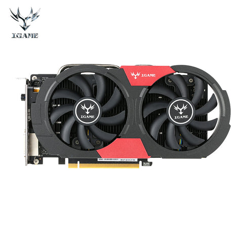 Original 1050 Ti Colorful NVIDIA GeForce GTX iGame 1050Ti GPU 4GB GDDR5 128bit PCI-E X16 3.0 Gaming Video Cards Graphics Card