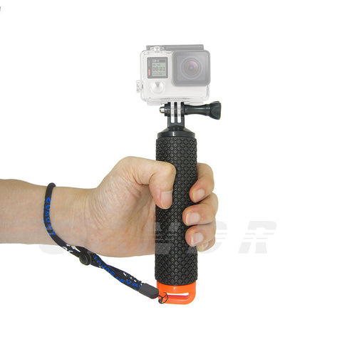Floating Hand Grip For Gopro hero 5 Float bobber stick For Go pro SJCAM Handle pole monopo accessory Sport Action camera 10