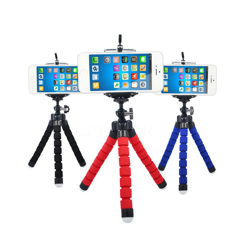 Flexible Holder Octopus Tripod Bracket Stand Mount Monopod Digital Camera for Gopro Hero 3 4 for iPhone 6 7 Huawei Phone s7 s8