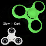 Tri-Spinner Fidget  glow in the dark Plastic EDC Anti Stress spiner Toys Hand Spinner For Autism and antistress , Stress Wheel