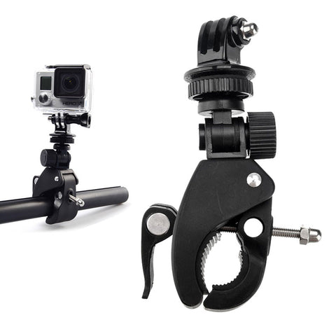 Go Pro Bike Motorcycle Bicycle Handlebar Mount Tripod Adapter for Gopro Hero 5 4 3 Xiaomi Yi 4K Sjcam Eken h9 Camera Accessories