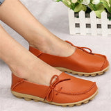 2017 New PU Leather Women Flats Moccasins Loafers Ladies Shoes Wild Driving women Casual Shoes Leisure Concise Flat shoes ST179