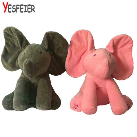 Elephant Stuffed Animals Plush Elephant Doll 33*28cm New Style Toys Plush Toy Baby Doll For Baby Gift Or Christma