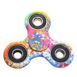 Starry Sky Colored ABS Children Toy EDC Three Corner Hand Spinner For Autism and ADHD Anxiety Stress Relief Focus Toys Kids Gift
