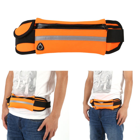 Outdoor Running Bags Men Women Nylon Sport Waistband Packs men Small Travel Belt Bag