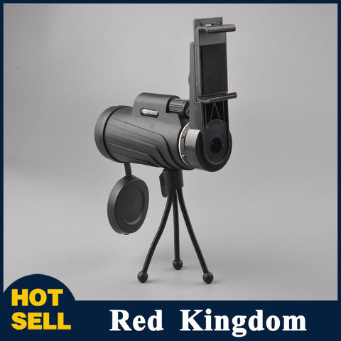 Powerful Monocular Telescopes 40x60 Monocular with Tripod Telescopes Military Professional for Hunting Watching Sports