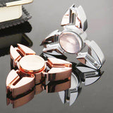 New Crab Tri-spinner Zinic Alloy r188 Steel Bearing Fidget Spinner Anti Anxiety Stress Fidget Toy EDC Adults Kids Hand Spinner