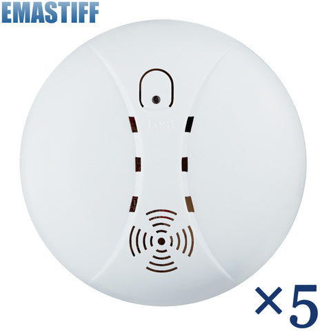 Hot Selling New 433 Wireless Smoke Detector Fire Alarm Sensor for Indoor Home Safety Garden Security
