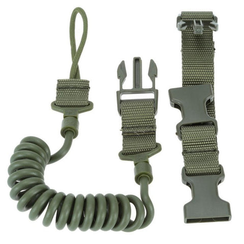 Tactical Rifle Sling Adjustable Bungee Hunting Two Point Airsoft Gun Strap System Paintball Gun Sling