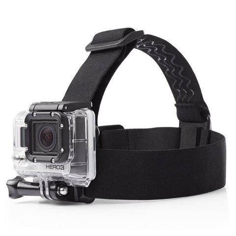 For Gopro Elastic Adjustable Head Strap Mount Belt For Gopro Hero 5 4 3+ SJCAM SJ5000 M20 SJ6 SJ7 Xiaomi Yi Camera Accessories