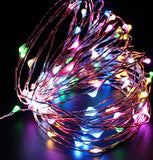 30M 300 LEDs 12V Copper Wire LED String Lights Outdoor Waterproof Decoration For Home Christmas Starry Led Fairy Garland Light