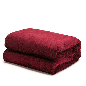 Warm Flannel Blanket Coral Plaid For Sofa Air Throw Travel Manta Soft  Blanket For Beds Throws