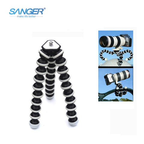 SANGER for Gopro Accessories Multifunctional Tripode Mobile Phone Large Octopus Slr Camera Tripod for Phone Yi M1 GoPro Hero 5