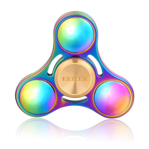 Fidget Spinner EEIEER Hand Spinner High Speed NSK R3 Bearing Titanium Alloy Toys Anxiety Stress Adults Kid Metal finger spinners