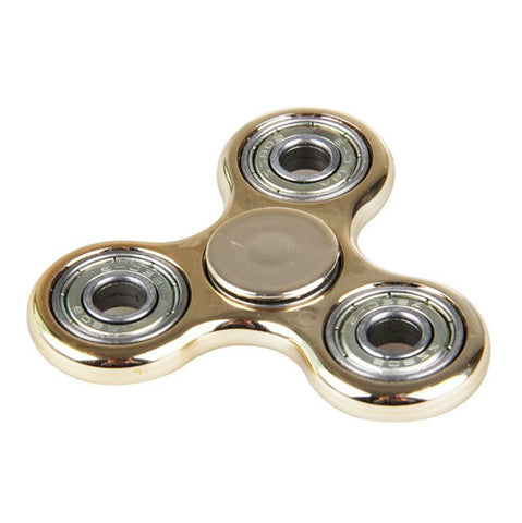 2017 Tri-Spinner Fidget High-Speed Hand Spinner Triangle Plastic ABS Steel Balls Bearing Finger Fidget Toy Anti Stress