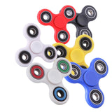 Multi Color Finger Spinner Fidget Plastic EDC Hand Triangle Gyro For Autism/ADHD Anxiety Stress Relief Focus Toys Gift