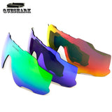 QUESHARK New 100% UV 400 Protection Exchangeable Lens For Queshark QE14 Model Cycling Sunglasses
