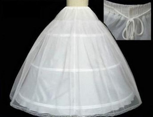 4a52d63edd47 The Spot Hot sale 50% off 3 HOOP Ball Gown BONE FULL CRINOLINE PETTICO –  Chmelaeon