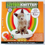 3 Step Cat Toilet Training System Kit Colourful Plastic Training Queakly Easy to Use Human Toilet 8 weeks or less Pet Supplies