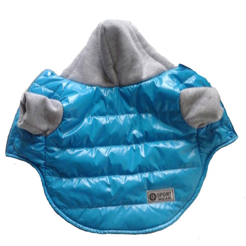 5 Colors Winter Pet Dog Jacket Coat Thickening Warm Puppy Dog Clothes With Hood Size New