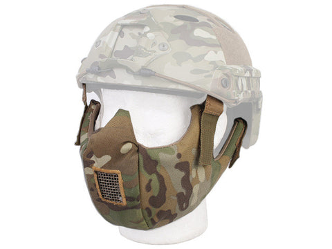 SINAIRSOFT Tactical Half Face Protective Mask Goggle for Fit Ops-core Fast Helmet Airsoft Paintball Hunting Accessories