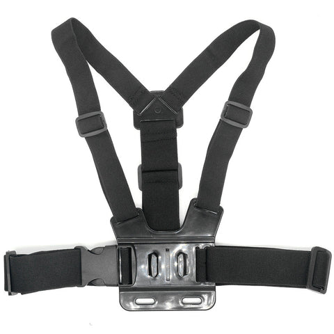 Adjustable Chest Belt Strap Chest Mount Harness for GoPro HD Hero 4 3 1 2 SJ4000 SJ5000 Sport Action Camera Accessories Black