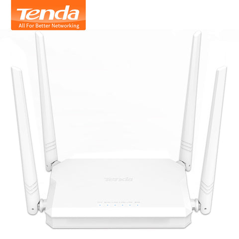 Tenda FH450 300Mbps Wireless WiFi Router,Wi-Fi Repeater,Repetidor, Superior Broadcom Chip,4*5dBi Antenna, Stronger & Wider WiFi