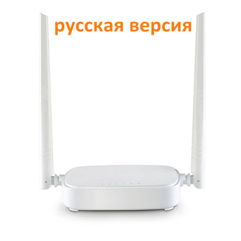 Russian Version Tenda Router Wireless  N301 Wi-fi Router 300Mbps 802.11 b/g/n/3/3u Signal Booster 4 Ports Router