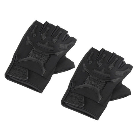 1 Pair Motorcycle Bike Military Tactical Airsoft Riding Hunting Half Finger Gloves Top Quality  Drop Shipping Cycling Gloves