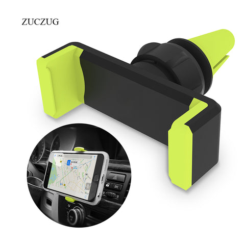 ZUCZUG Universal Car Phone Holder 360 Degree Adjustable Air Vent Mount Holder Stand For iPhone 6 7 Samsung Soporte Movil Stand